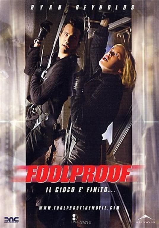 Foolproof - David Hewlett, Ryan Reynolds, Kristin Booth, Joris Jarsky