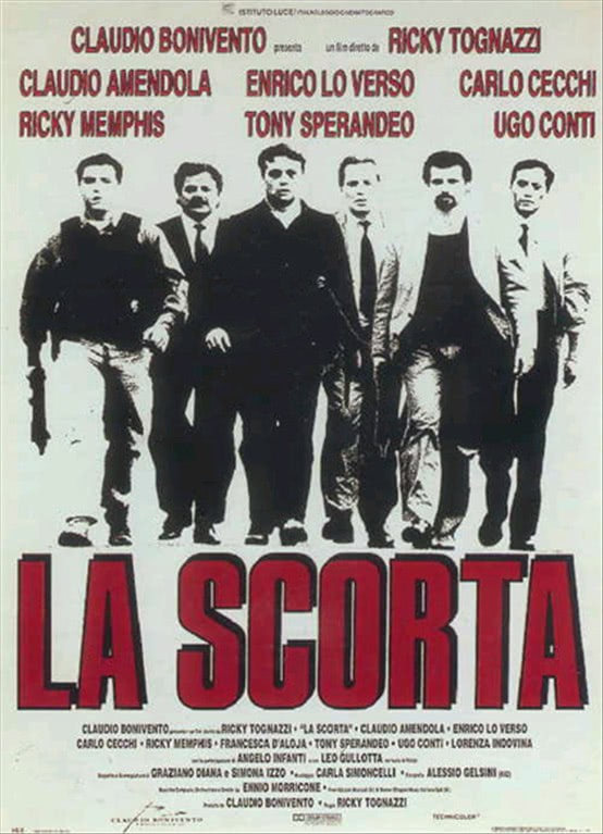 LA SCORTA - FILM IN DVD