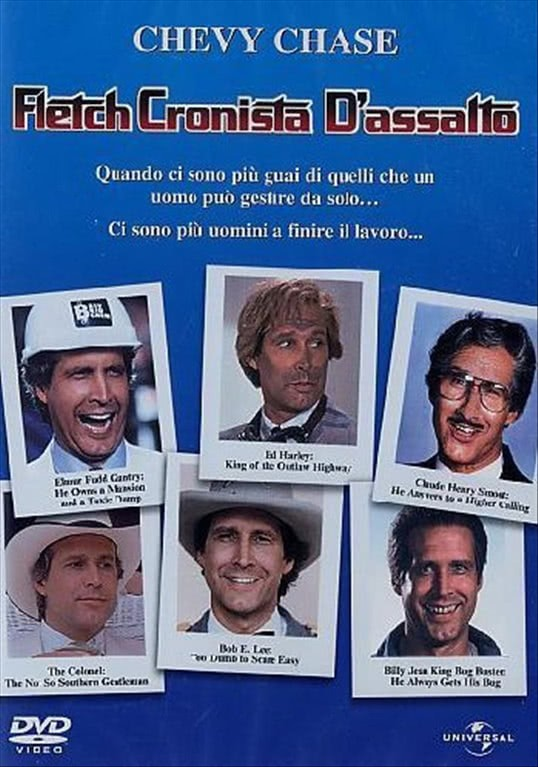Fletch Cronista D'Assalto - Chevy Chase, Ronald Lee Ermey, Hal Holbroock (DVD)