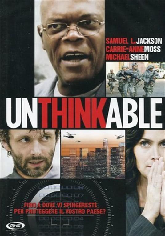 Unthinkable - Samuel L. Jackson, Carrie-Anne Moss, Gil Bellows (DVD)