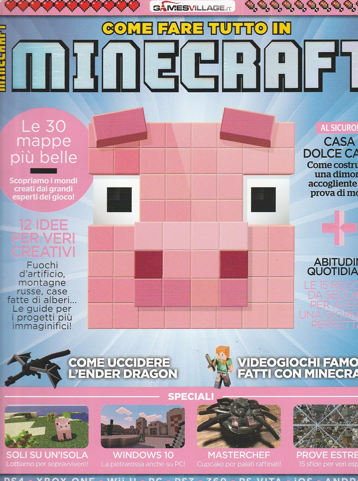 Come Farre Tutto In Minecraft Bimestrale N 3 By Sprea Editore