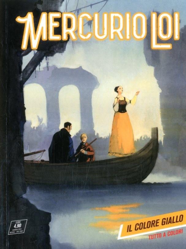 Mercurio Loi - N° 8 - Il Colore Giallo - Bonelli Editore