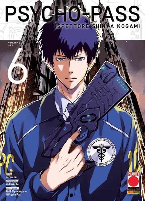 Psycho-Pass - N° 6 - Ispettore Shinya Kogami - Manga Life Planet Manga