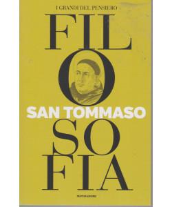 I grandi del pensiero - Filosofia - n. 14 -San Tommaso  -18/6/2021 - settimanale - 159 pagine