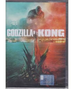 I Dvd Cinema di Sorrisi - n. 16 - Godzilla vs. Kong     - settimanale  luglio  2021