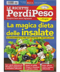 Le ricette Perdipeso di Dimagrire - n. 114 -La magica dieta delle insalate - mensile -maggio  2021