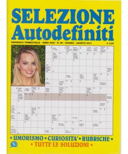 Selezione Autodefiniti - n. 96 - trimestrale  giugno - agosto 2021-