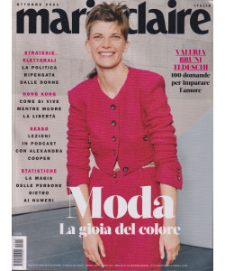 Marie Claire -      n. 10   -ottobre  2021 - mensile  -