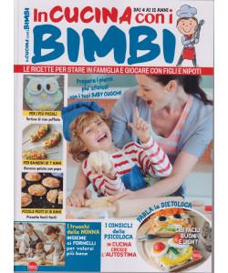 In cucina con i bimbi- n. 7 - bimestrale - ottobre - novembre 2021 - dai 4 ai 12 anni