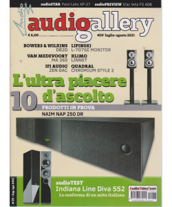 Audiogallery - n. 433 - luglio - agosto 2021  -