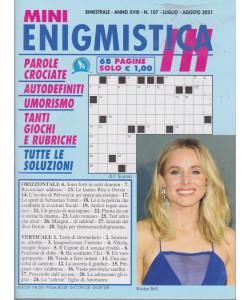 Mini Enigmistica In - n. 107 - bimestrale - luglio - agosto  2021 - 68 pagine