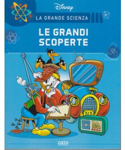 La grande scienza Disney -Le grandi scoperte    n. 16 - settimanale -24/7/2021