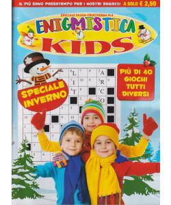 Speciale Pausa cruciverba n. 4 - Enigmistica kids -Speciale inverno -  bimestrale - ottobre - novembre 2021