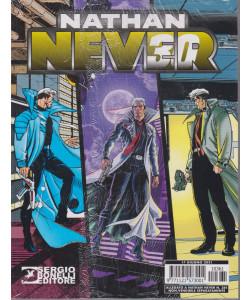 Nathan Never -Trent'anni in copertina + L'ultimo volo  - n. 361 - mensile -17 giugno 2021 - 2 volumi