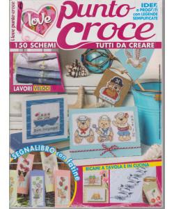 I love punto croce - n. 1 - bimestrale - febbraio - marzo 2021
