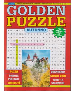 Golden Puzzle  autunno - n. 140 - trimestrale - ottobre - dicembre 2021- 100 pagine