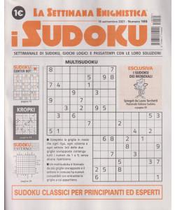 La settimana enigmistica - i sudoku - n. 165 - 18 settembre 2021 - settimanale