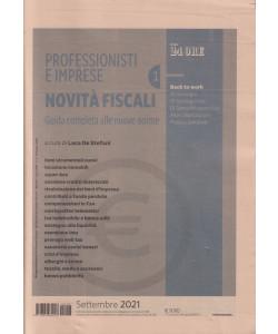 Professionisti e imprese - Novità fiscali  - n. 3 -settembre 2021- mensile
