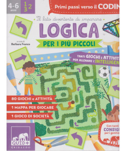 I libri de Il Sole 24 ORE - Logica per i più piccoli- n. 4/2021  - 4-6 anni - mensile