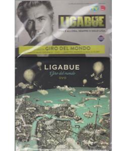 Cd Sorrisi Collezione 2 - n. 32- Ligabue  -19° cd -Giro del mondo - agosto 2021  - settimanale - formato maxi digipack +dvd  -  libretto inedto
