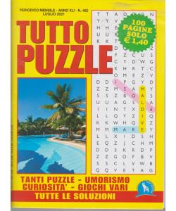 Tutto Puzzle - n. 482 - mensile -luglio   2021 - 100 pagine