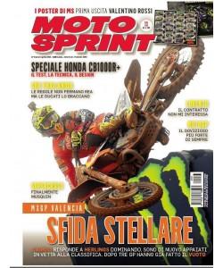 Moto Sprint n. 13 - 27 marzo - 2 aprile 2018 settimanale