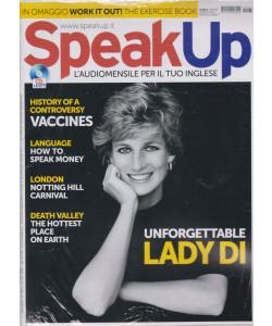Speak Up - n. 437 -agosto   2021 - mensile - rivista + cd audio