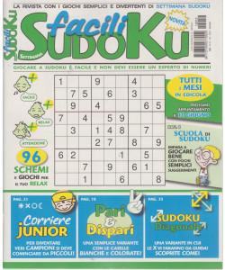 Settimana sudoku facili - n. 12 - mensile - 7/5/2021