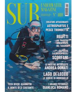 Sub underwater magazine - n. 408 - bimestrale -20 ottobre 2021