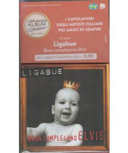 I grandi album italiani 1970- 2000 - tredicesima uscita- Ligabue- Buon compleanno Elvis - cd + libretto inedito - 19/1/2021 -