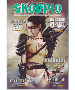Skorpio - n. 2305 - 6 maggio 2021 - settimanale di fumetti