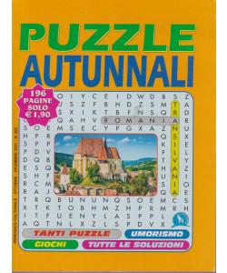 Puzzle Autunnali - n. 353 - ottobre - dicembre 2021- 196 pagine
