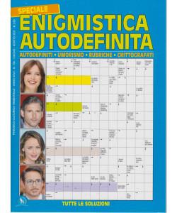 Speciale Enigmistica autodefinitia - n. 106 - trimestrale - giugno - agosto 2021