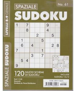Spaziale Sudoku - n. 61 - livelli 8-9 geniale - bimestrale
