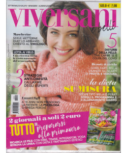 Viversani e Belli  - n.9 -  - 26/2/2021 -  settimanale + Tutto su....Prepararsi alla primavera - 2 riviste