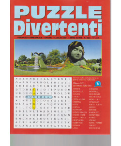 Puzzle Divertenti - n. 223- bimestrale - giugno - luglio  2021