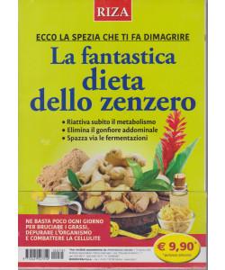 Alimentazione naturale - n. 70 - La fantastica dieta dello zenzero - agosto 2021