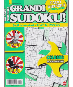 Abbonamento Grandi Sudoku (cartaceo  bimestrale)