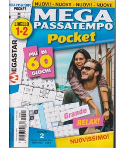 Mega passatempo Pocket - n. 2 - ottobre - novembre 2021 - bimestrale