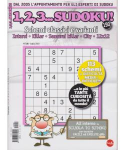 1,2,3....sudoku! - n. 190 - luglio 2021 - mensile