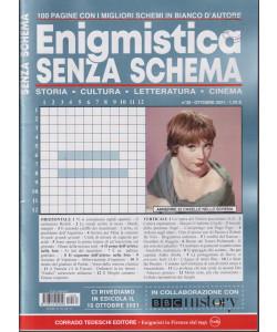 Enigmistica senza schema  - mensile -  n.39 - ottobre   2021