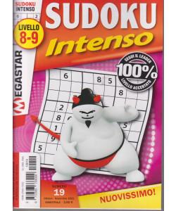 Sudoku Intenso - n. 19 - livello 8-9 - bimestrale - ottobre - novembre 2021