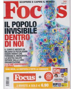 Focus + Focus D&R - n. 343 - maggio 2021 - 2 riviste