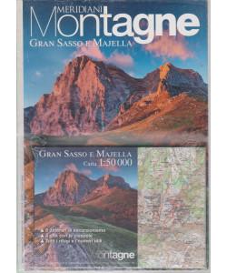 Meridiani Montagne - Gran  Sasso e Majella - n. 44 - semestrale - 1/7/2018