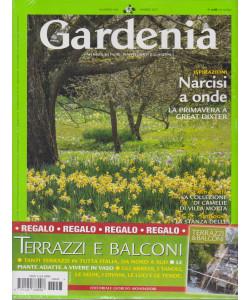 Gardenia + in regalo Terrazzi & balconi - n. 443  - marzo  2021 - mensile - 2 riviste