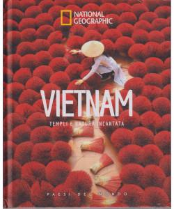 National Geographic  -Vietnam - Templi e natura incantata-  -n. 55  - 17/9/2021 - settimanale - copertina rigida