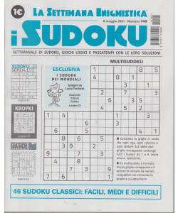 La settimana enigmistica - i sudoku - n. 146 - 6 maggio  2021 - settimanale