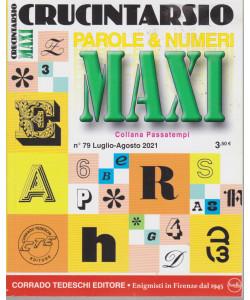 Maxi Crucintarsio - n. 79  - luglio - agosto  2021 - trimestrale