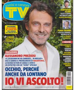 Sorrisi e Canzoni tv -n.  25 - settimanale  - 22 giugno 2021