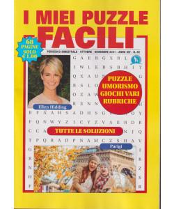 I miei puzzle facili -- n. 80 - bimestrale - ottobre - novembre 2021 - 68 pagine